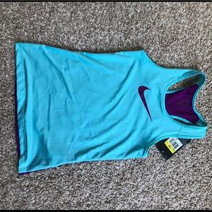 New with tags girls Nike pro tank small